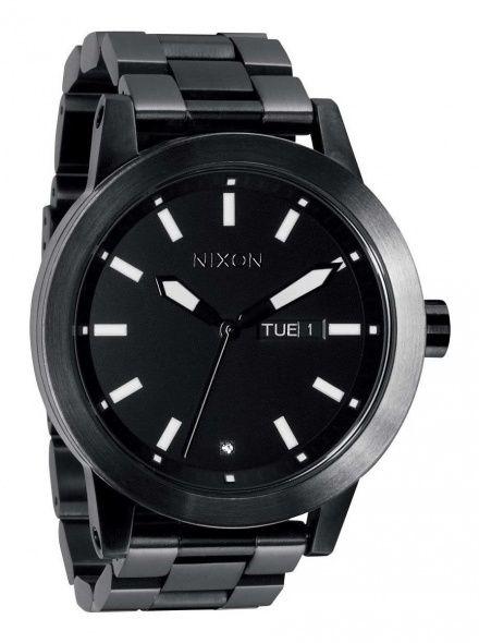 Zegarek Nixon Spur Matte Black Matte Gunmetal - Nixon A2632062
