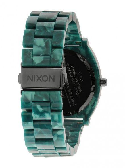 Zegarek Nixon Time Teller Acetate Emerald - Nixon A3271054