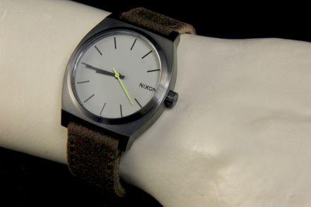 Zegarek Nixon Time Teller Gunmetal Brown - Nixon A0451388