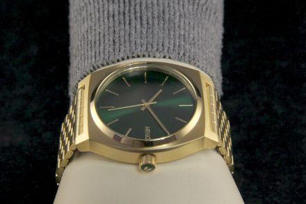 Zegarek Nixon Time Teller Gold Green Sunray - Nixon A0451919