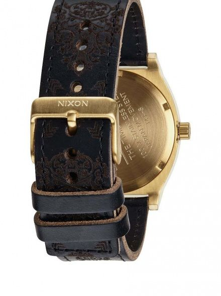 Zegarek Nixon Time Teller Gold Ornate - Nixon A0451882