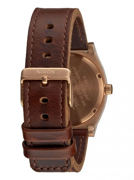 Zegarek Nixon Time Teller Rose Gold Gunmetal Brown Nixon A0452001