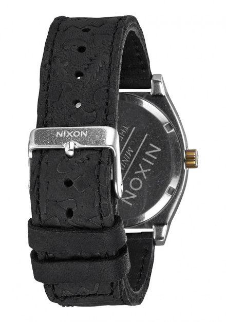 Zegarek Nixon Time Teller Black Brass - Nixon A0452222