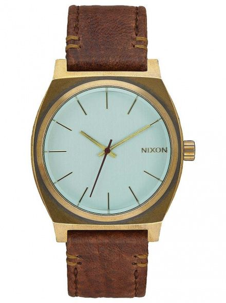 Zegarek Nixon Time Teller Brass Green Crystal Brown Nixon A0452223