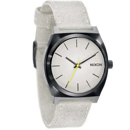Zegarek Nixon Time Teller Canvas All Black Bone - Nixon A0461631