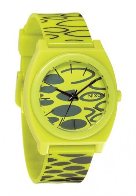 Zegarek Nixon Time Teller P Citron Wildstyle - Nixon A1191590