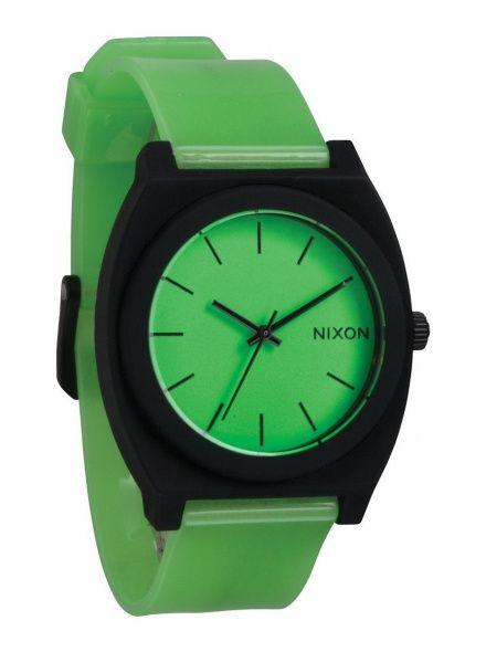 Zegarek Nixon Time Teller P Glo Green - Nixon A1191110