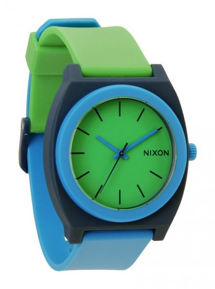 Zegarek Nixon Time Teller P Green Blue Navy - Nixon A1191875