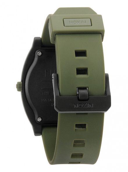 Zegarek Nixon Time Teller P Matte Black Surplus - Nixon A1192042