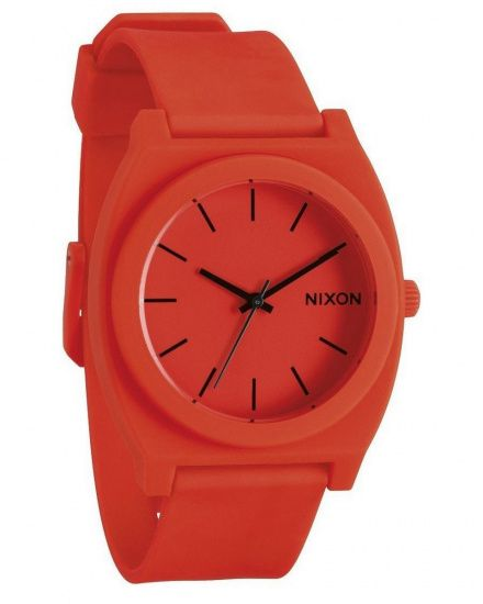 Zegarek Nixon Time Teller P Neon Orange - Nixon A1192156