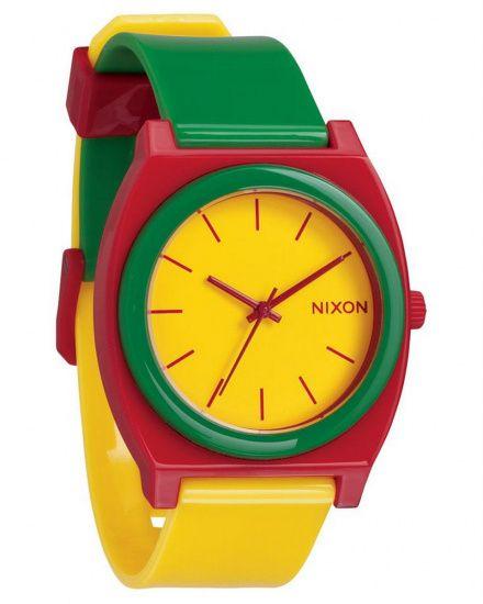 Zegarek Nixon Time Teller P Rasta - Nixon A1192114