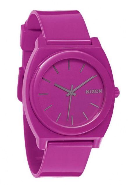 Zegarek Nixon Time Teller P Shocking Pink - Nixon A1191644
