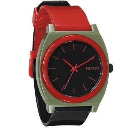 Zegarek Nixon Time Teller P Surplus Black Red - Nixon A1192048