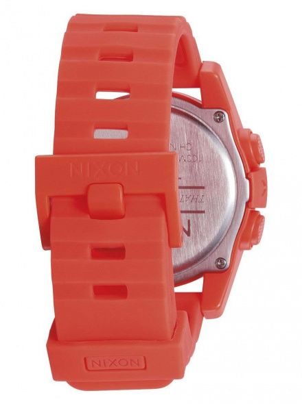 Zegarek Nixon Unit Neon Orange - Nixon A1972156