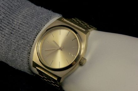 Zegarek Nixon Time Teller All Gold Gold - Nixon A0451511