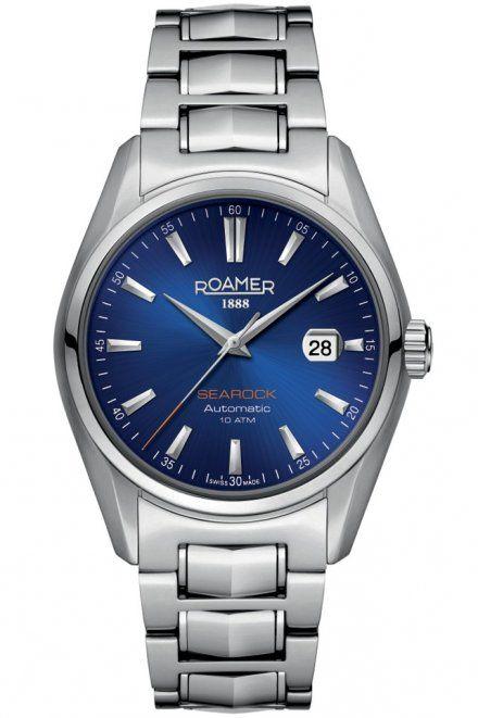 Roamer 210633 41 45 20 Zegarek Szwajcarski Searock Automatic