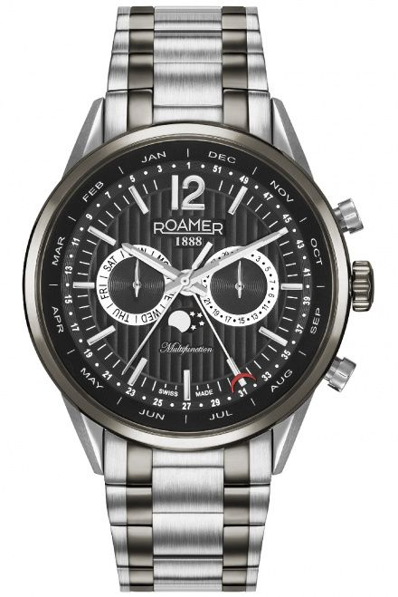 Roamer 508822 40 54 50 Zegarek Roamer Superior Business Multifunction