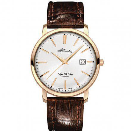 Zegarek Męski Atlantic Super De Luxe 64351.44.21