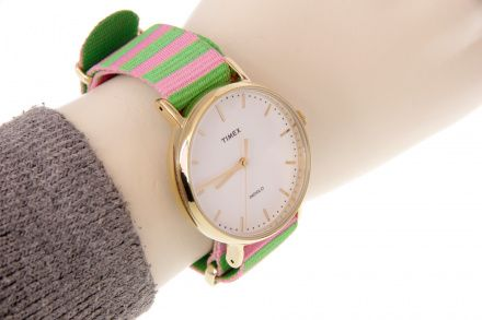 TW2P91800 Zegarek Damski Timex Weekender Fairfield TW2P91800