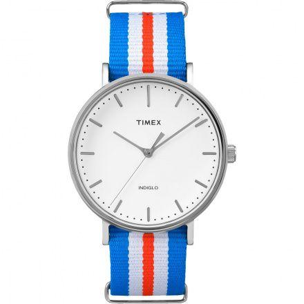TW2P91100 Zegarek Damski Męski Timex Weekender Fairfield TW2P91100