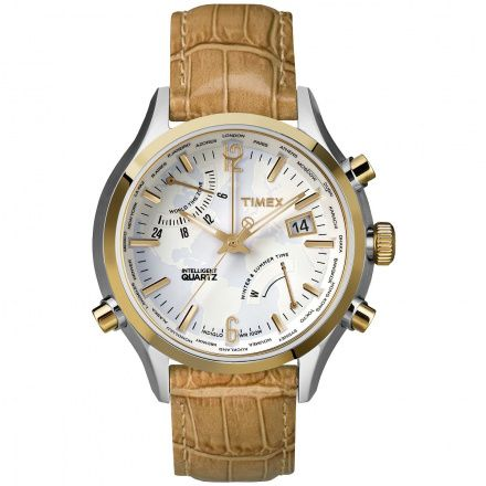 TW2P87900 Zegarek Męski Timex Intelligent Quartz World Time TW2P879