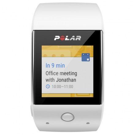 POLAR M600 WHITE – Smartwatch pulsometr z GPS