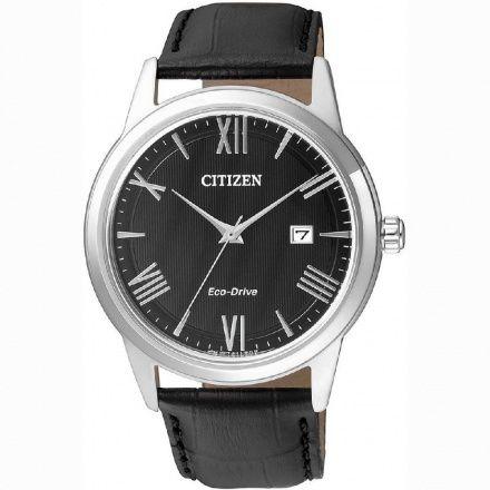 Citizen AW1231-07E Zegarek Męski na pasku Eco Drive Citizen Classic
