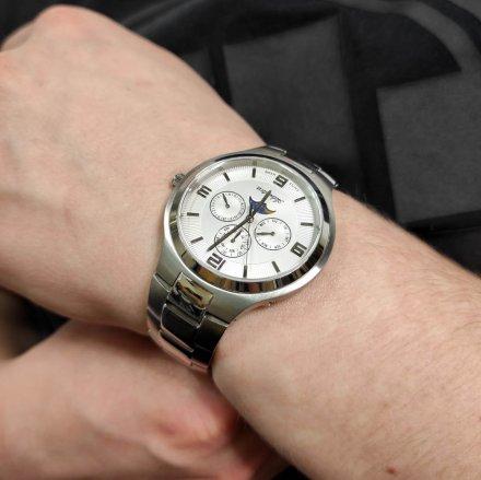 Zegarek Męski Adriatica na bransolecie A1109.5153QF - Multifunction Swiss Made