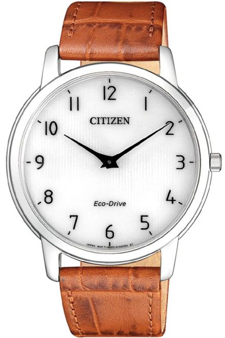 Citizen AR1130-13A Zegarek Męski na pasku Eco Drive Citizen Stiletto