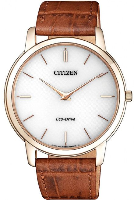 Citizen AR1133-15A Zegarek Męski na pasku Eco Drive Citizen Stiletto