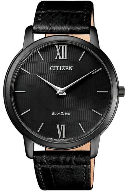 Citizen AR1135-10E Zegarek Męski na pasku Eco Drive Citizen Stiletto