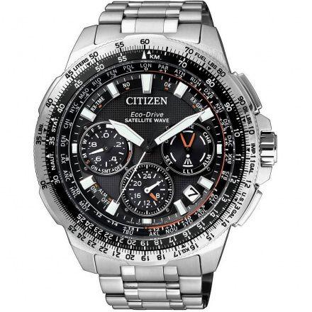 Citizen CC9020-54E Zegarek Męski na bransolecie EcoDrive Promaster GPS