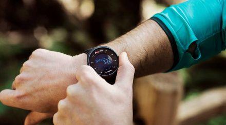 POLAR M200 BLACK - Smartwatch pulsometr z GPS