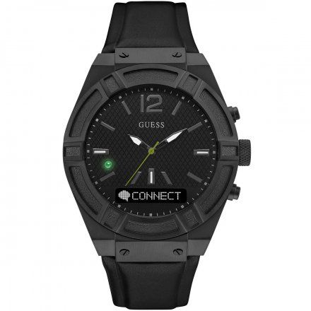 Zegarek Męski Guess Connect C0001G5 Smartwatch Connect Voice Command