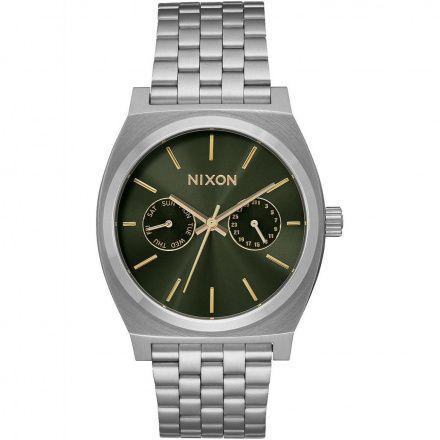 Zegarek Nixon Time Teller Deluxe Olive Sunray - Nixon A9222210