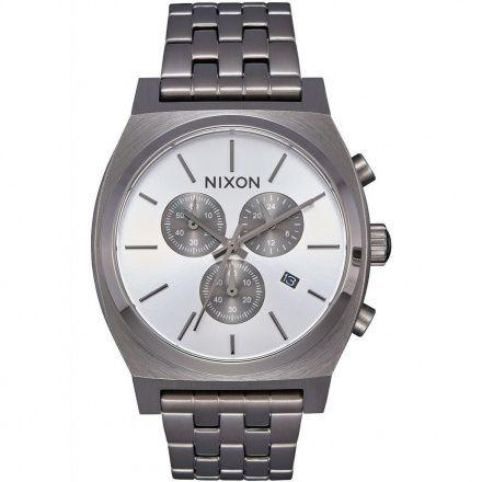 Zegarek Nixon Time Teller Chrono All Gunmetal - Nixon A9721632