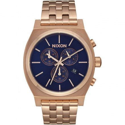 Zegarek Nixon Time Teller All Rose Gold Navy Sunray Nixon A9722398