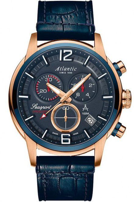 Zegarek Męski Atlantic Seasport 87461.44.55