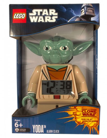 9003080 Budzik LEGO Star Wars Yoda