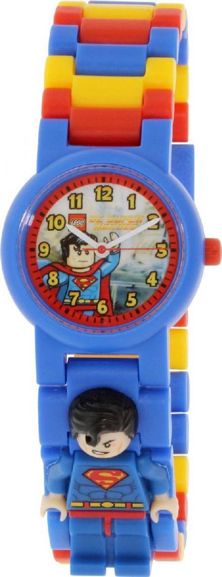 8020257 Zegarek LEGO Superman Minifigurka