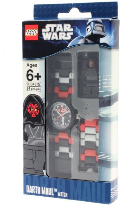 8020431 Zegarek LEGO Star Wars Darth Maul Minifigurka