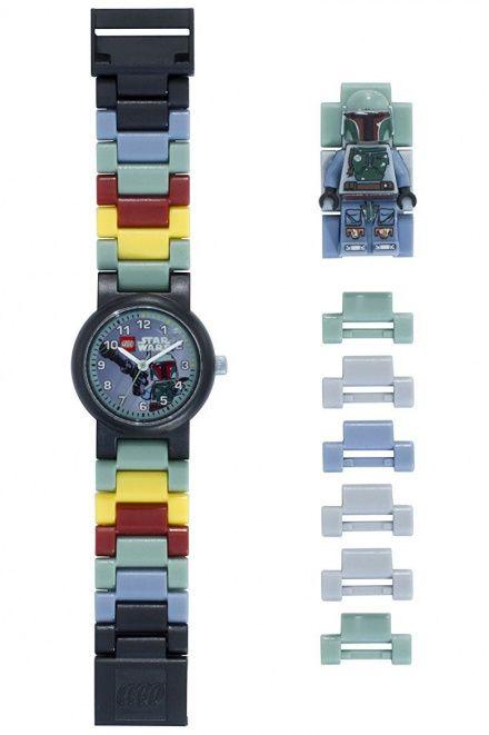 8020448 Zegarek LEGO Star Wars Boba Fett Minifigurka