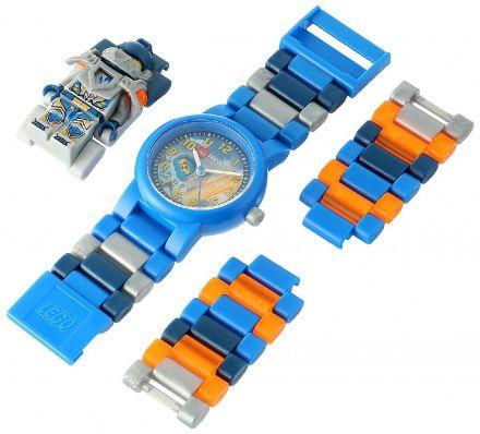 8020516 Zegarek LEGO Nexo Knights Clay Minifigurka