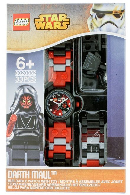 8020332 Zegarek LEGO Star Wars Darth Maul + Figurka