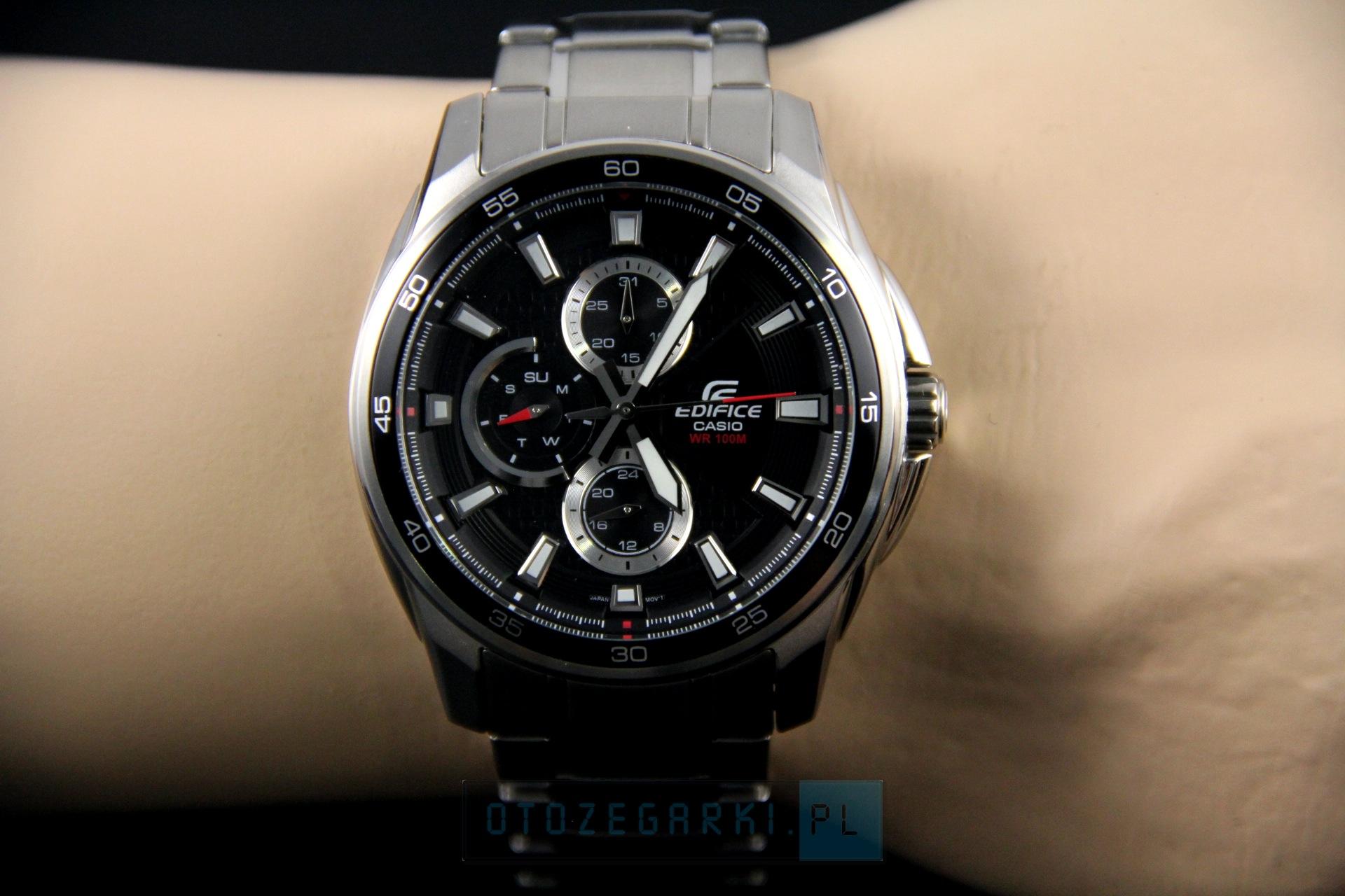 zegarek casio ef-334d-1av