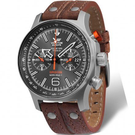 Zegarek Męski Vostok Europe Expedition 6S21/595H298 Chrono Line