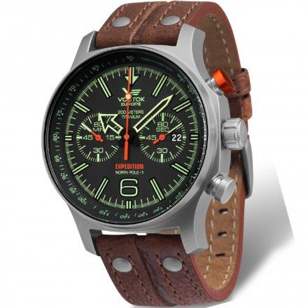 Zegarek Męski Vostok Europe Expedition 6S21/595H299 Chrono Line