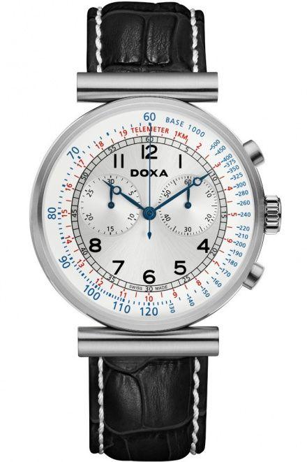 Zegarek Szwajcarski Doxa Telemeter 160.10.025.01