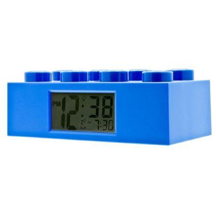 9002151 Budzik LEGO Klocek Niebieski
