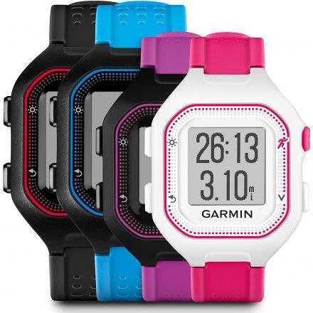 GARMIN Zegarek Forerunner 25 Niebiesko-Czarny Duży 010-01353-11